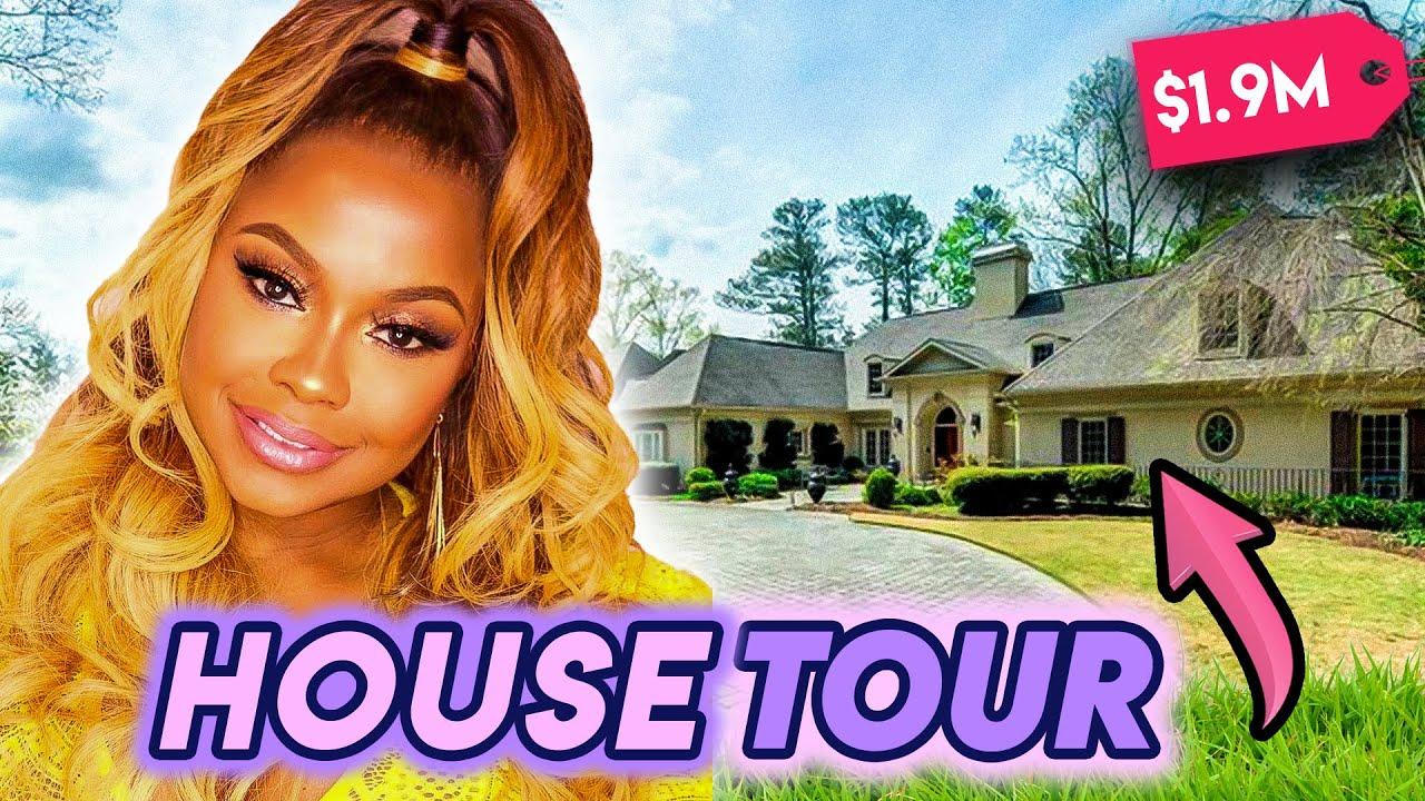 Phaedra Parks   House Tour   Multi-Million Dollar Buckhead Mansion & More