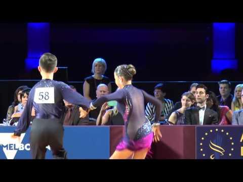 Australian Dance Sport Championship 2015 Junior Latin-American Final - Samba