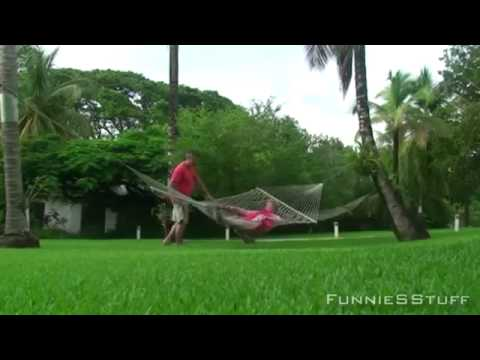 Best Funny Hammock Accidents 2013 #1