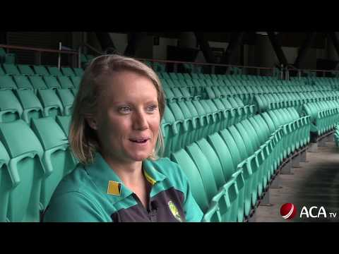 Alyssa Healy's cricket journey