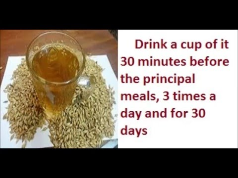 Barley Drink The Best Drink to burn fats and lose weight