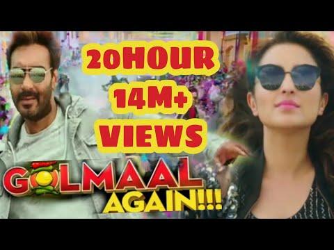 Golmaal Again Trailer Launch, होते ही टूट गये Record , Aamir Khan के निकले पसीने | 2017 Ajay Devgan