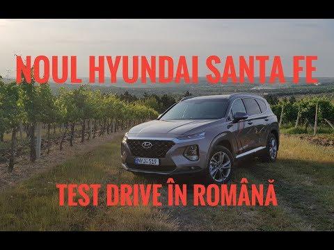 Hyundai Santa Fe 2018 Test Drive AutoBlog.MD