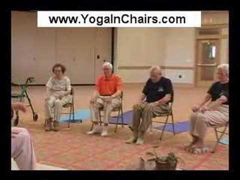 Yoga In Chairs Beginners Youtube