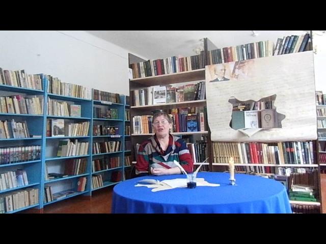 Изображение предпросмотра прочтения – ВалентинаЧиринова читает произведение «Смотри, как роща зеленеет…» Ф.И.Тютчева