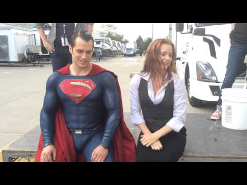 Superman And Lois Lane Take On The Ice Bucket Challenge Because, Why Not