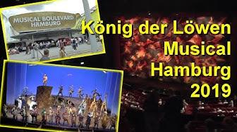 König der Löwen Musical Besuch Hamburg 2019