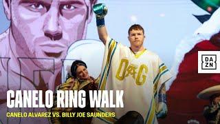 Canelo's EPIC Cinco de Mayo Themed Ring Walk