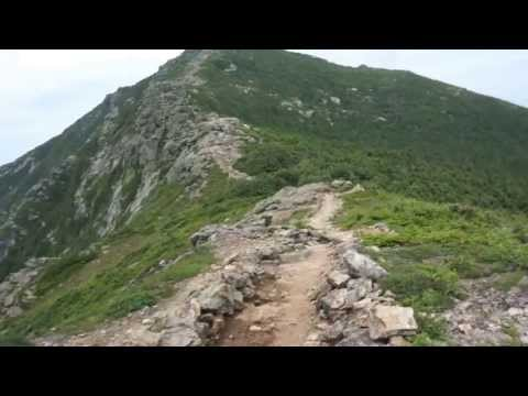 Franconia Notch Traverse  trail loop _ The White Mountains , New Hampshire 1080p