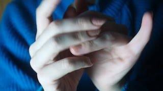 ASMR Dreamy hands: skin sounds, slow hand movements, soft focus, no talking