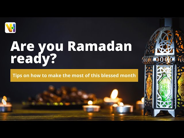 With 2 days till #Ramadan - are you ready for this blessed month?