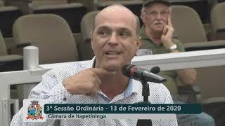 03ª Sessão Ordinária 2020