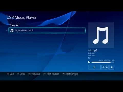 How To Put Music On PS4