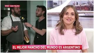 El mejor pancho del mundo en El Baqueano, de Fernando Rivarola