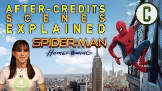 Spider-Man: Homecoming After Credits Scenes Explained - Collider Video