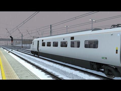 Train Simulator 2015: Class 801 at 8:01 Stuck Red Signal Glitch  