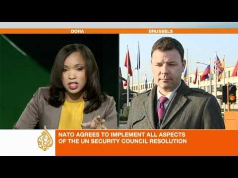 Al Jazeera's Paul Brennan on NATO command of operations in Libya