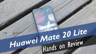 Huawei Mate 20 Lite Hands-on Review [Greek]