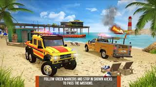 New Update Coast Guard: Beach Rescue Team New Vehicle QUAD BIKE RESCUE Unlocked Android GamePlay FHD