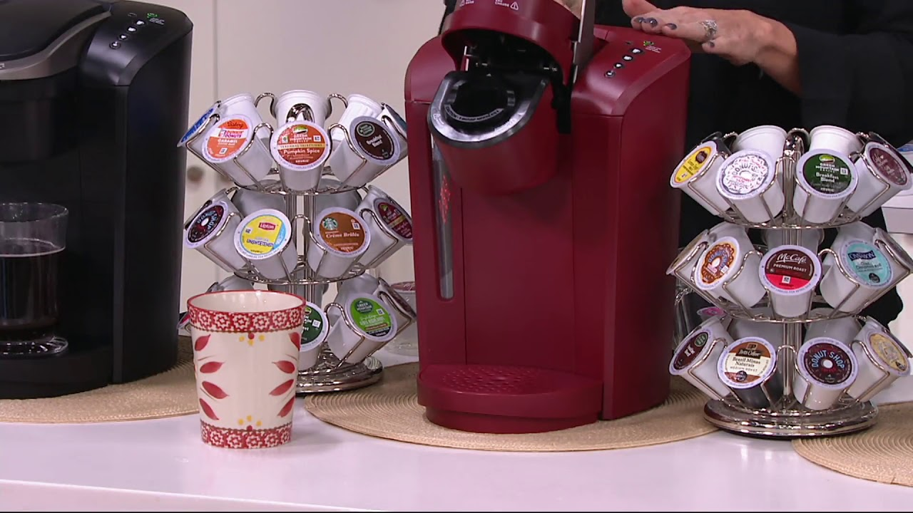 Keurig K-Select Coffee Maker w/ My K-Cup, 24 K-Cup Pods & Water Filters on  QVC