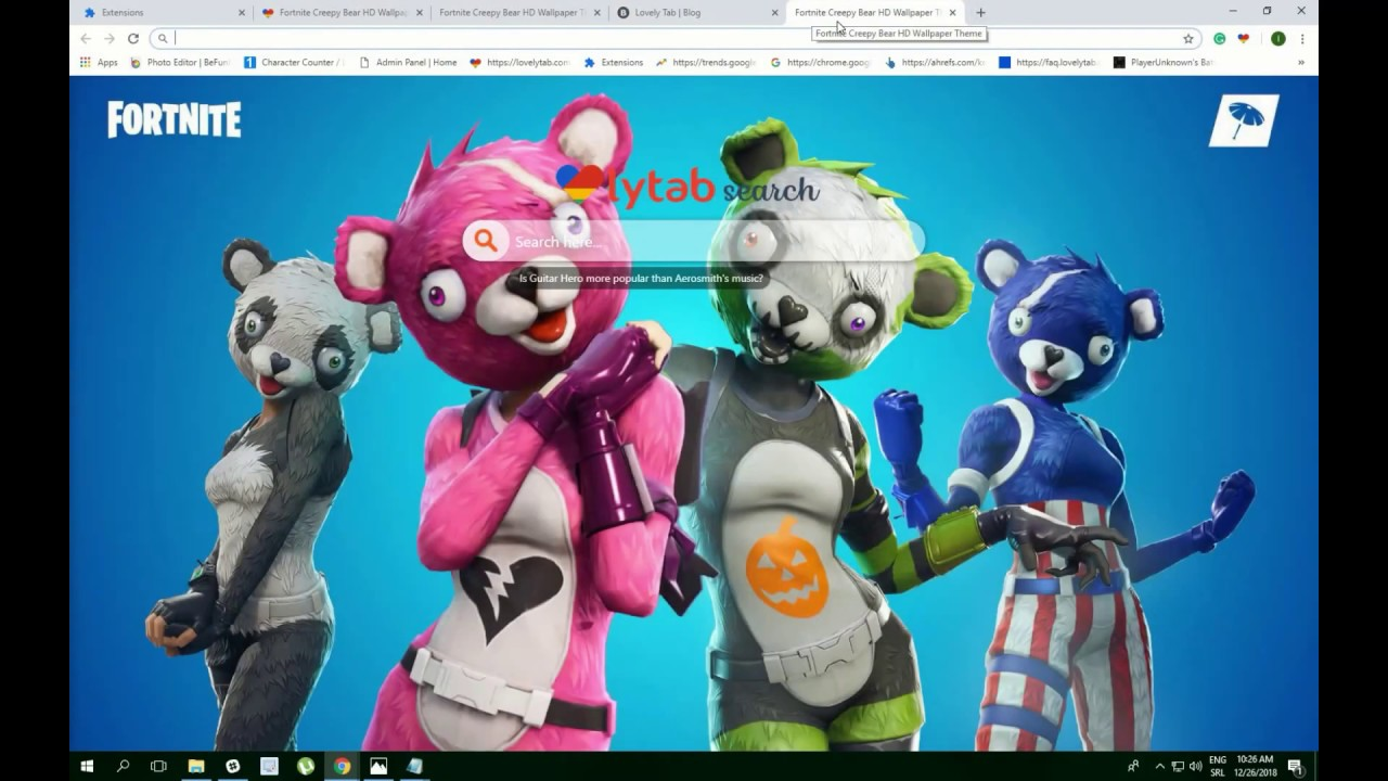 Cuddle team leader fortnite wallpapers theme try now youtube - Cuddle team leader from fortnite ...