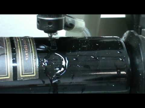 wine bottle engraving machine