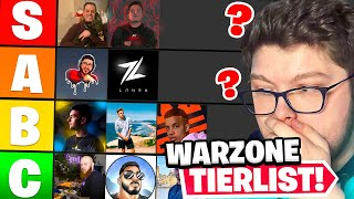 I ranked the Best Warzone Tournament Players... 😱