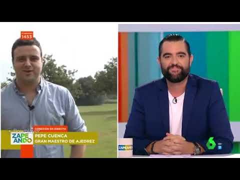 VER Entrevista al GM Pepe Cuenca en Zapeando, TREMENDO !