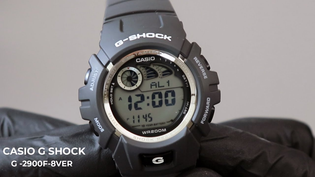 Download Unboxing   Showing A Casio G -Shock G 2900F 8VER