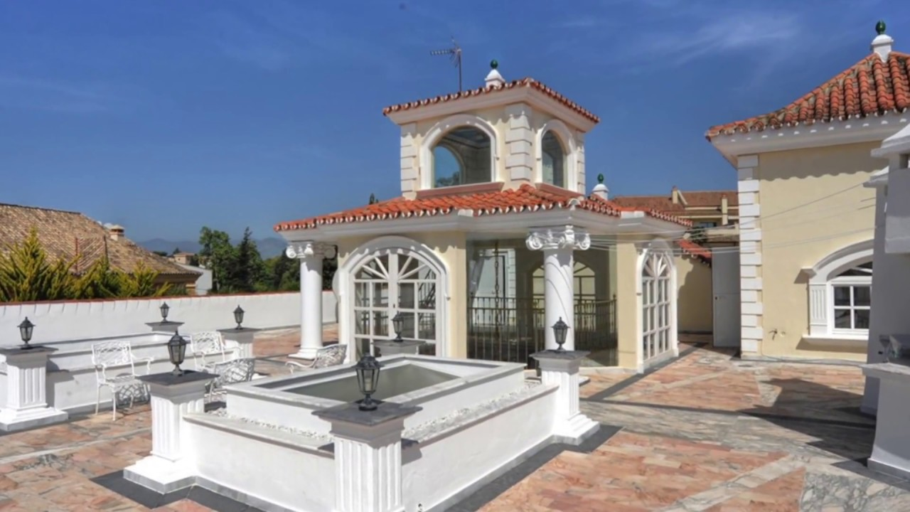 villa de luxe a louer marbella front de mer 8 chambres avec piscine youtube