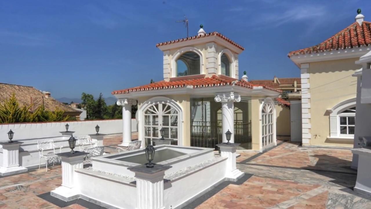 Villa de luxe a louer marbella front de mer 8 chambres - Villa a louer en espagne avec piscine ...