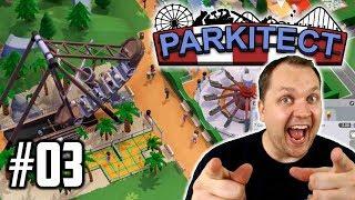 Piratenschiff mit Palmen   Parkitect Let's Play #03