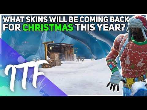 What Skins Are Coming Back This Christmas? (2019) (Fortnite Battle Royale)