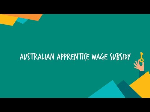 Announcement: Apprentice Wage Subsidy Program To Launch In The New Year
