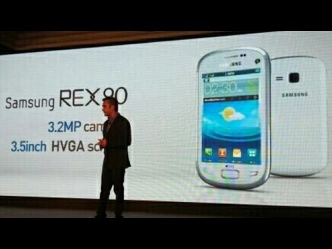 Samsung Rex 90 S5292 Launch in India
