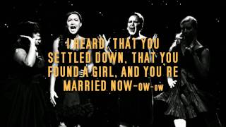 Rumour Has It Someone Like You (karaoke instrumental) Glee Adele version!.mp4