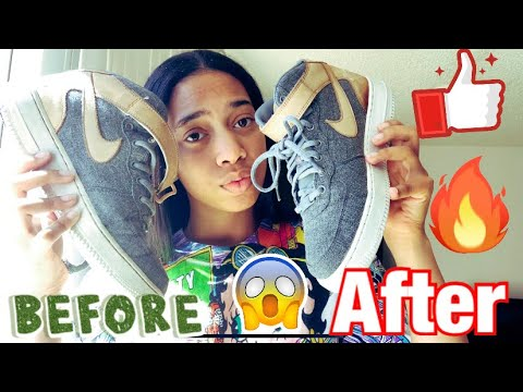 How To Clean Air Force 1's | With Reshoevn8r