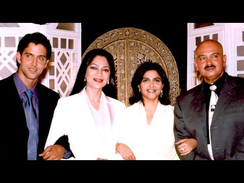 Rendezvous with Simi Garewal Hrithik Roshan with Family Part1