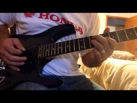 Guitar solo using Steve Vai Evo pickups on Ibanez RG270