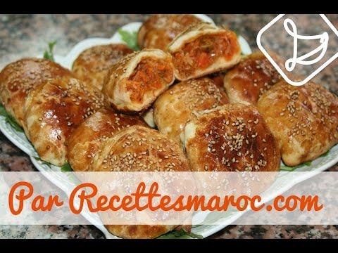Rghaif Végétarien au Four (Ramadan) - Delicious Vegetarian Rghaif - رغايف في الفرن