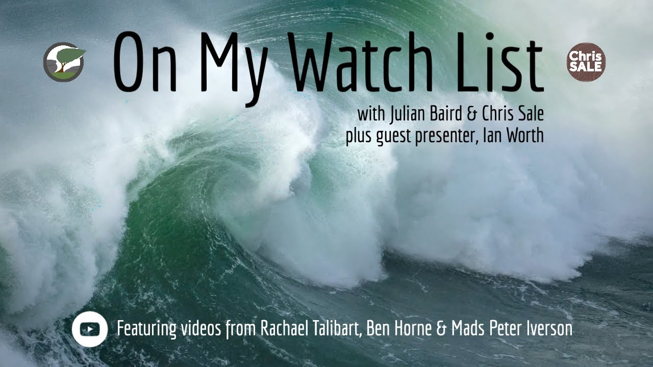 On My Watch List Series 1 Episode 2 with guest presenter Ian Worth