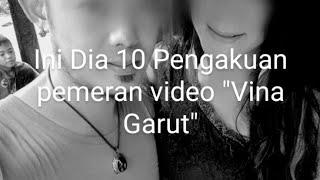 10 Pengakuan Biduan Cantik Vina | Pemeran Wanita di Video Vina Garut yang V!r4l