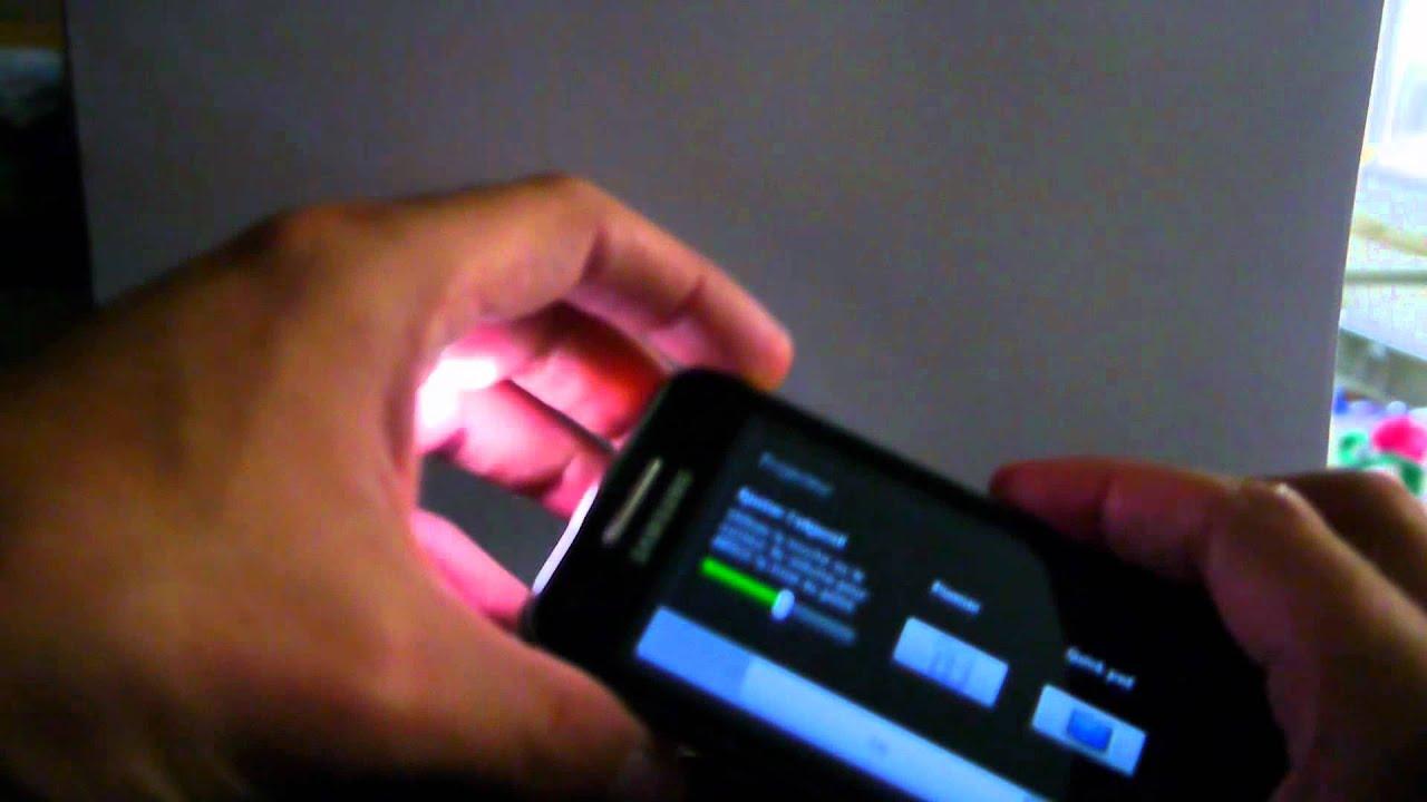 test samsung galaxy beam le premier smartphone avec vid o projecteur youtube. Black Bedroom Furniture Sets. Home Design Ideas