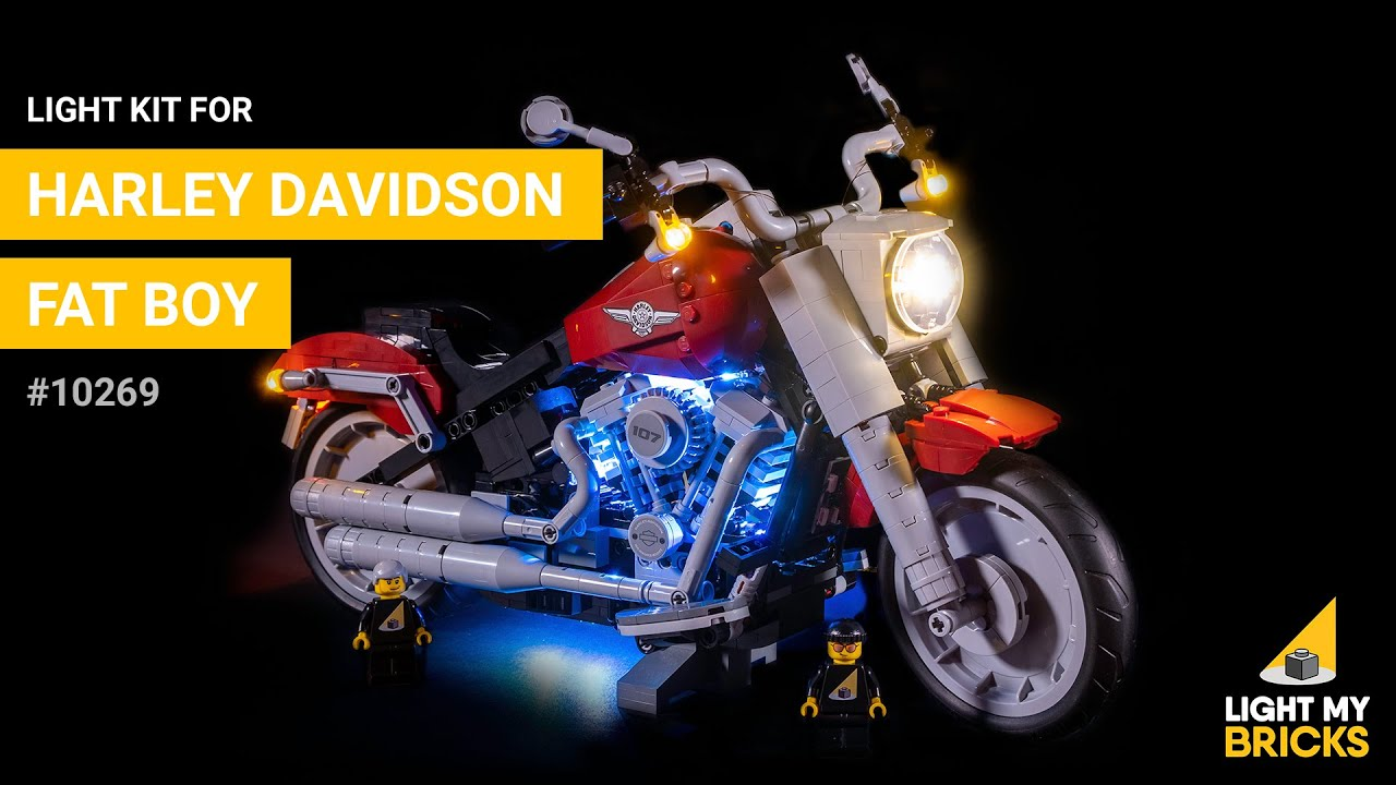Lego Harley Davidson Fat Boy 10269 Light Kit My Bricks