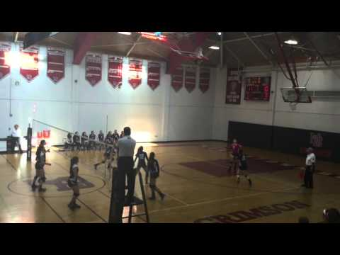 VIILLA WALSH SCHOOL - GIRLS VOLLEYBALL VARSITY TOURNAMENT at Morristown Beard School  10-10-2015