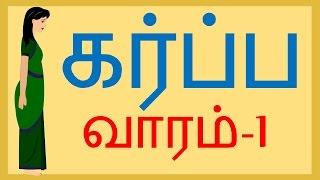Pregnancy |Week by Week | Tamil | Week 1