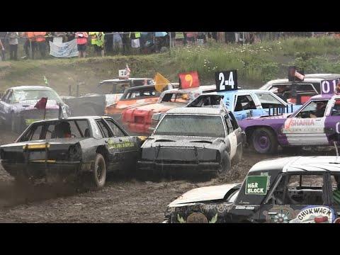 2016 Gander Demolition Derby - Big Car Heat