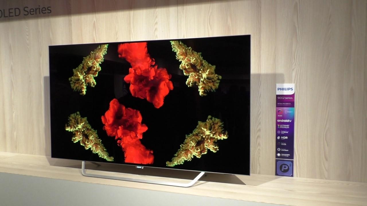 55pos9002 neuer 4k oled tv von philips tp vision in 2017 youtube. Black Bedroom Furniture Sets. Home Design Ideas