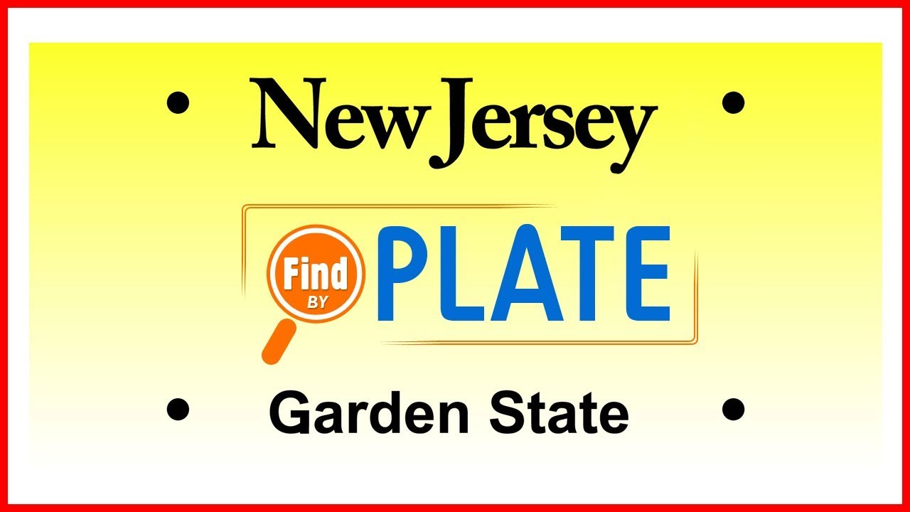 Look Up License Plates in New Jersey for Free