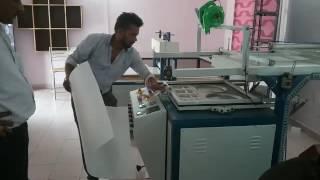 Dona plate machine Thermocol plastic and packing machine